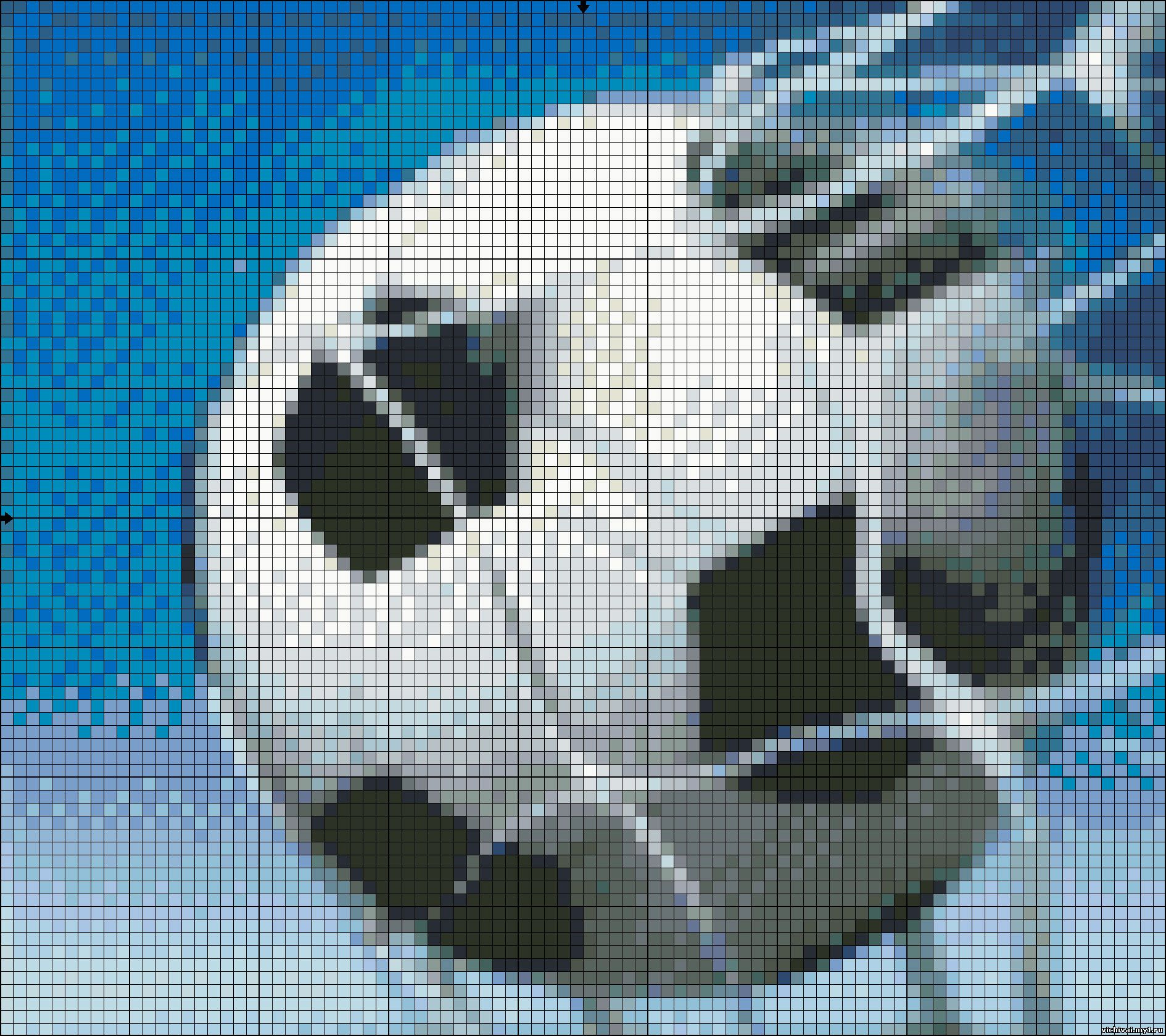 Схемы вышивки крестиком футбольные