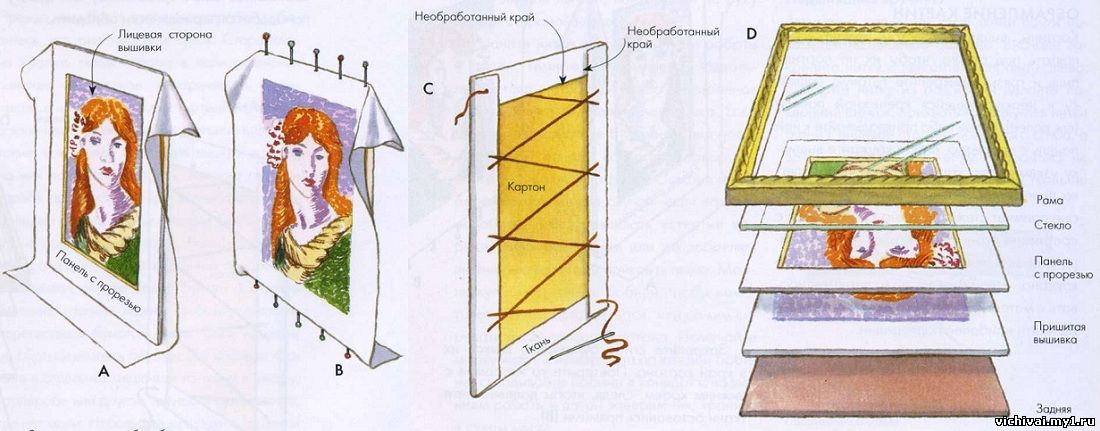 Подобрать рамку для вышивки бисером 83