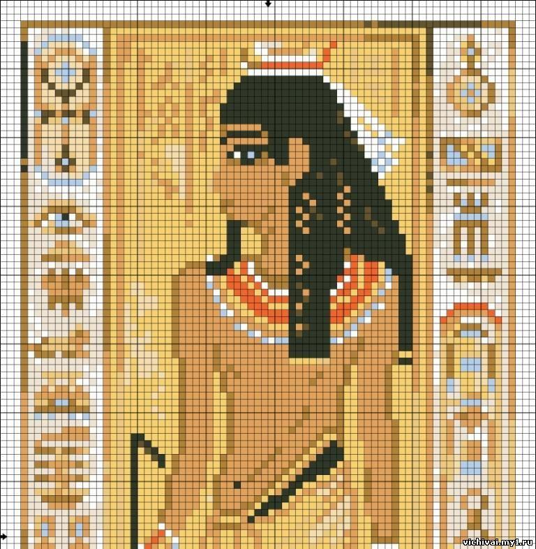 Египет схема вышивки крестом 46