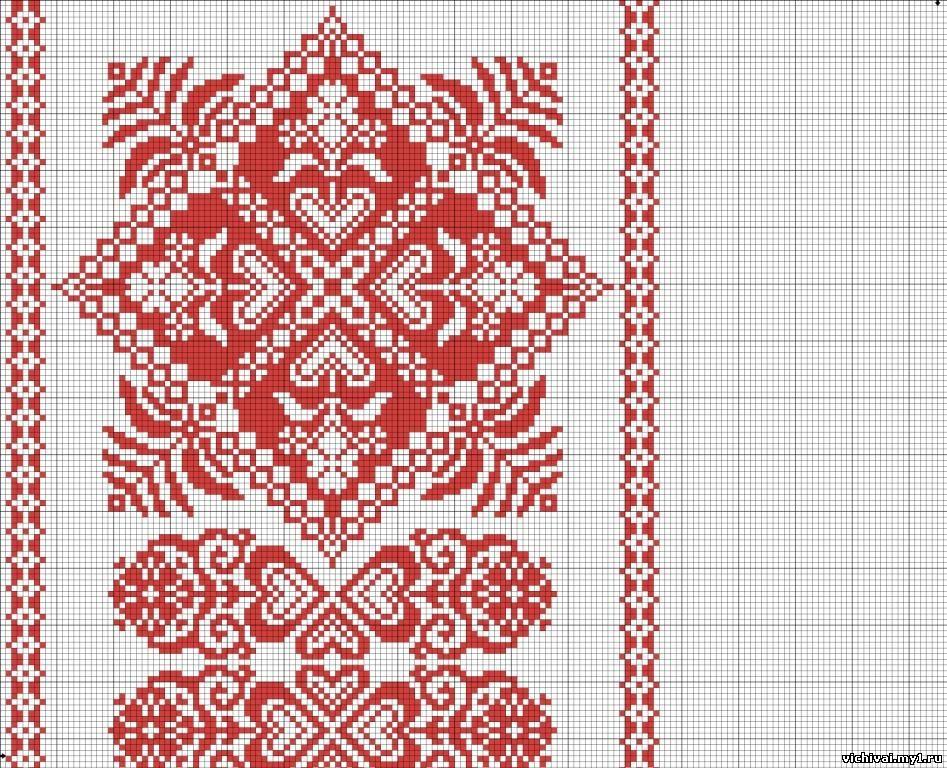 Узоры и орнаменты в русской вышивке 937
