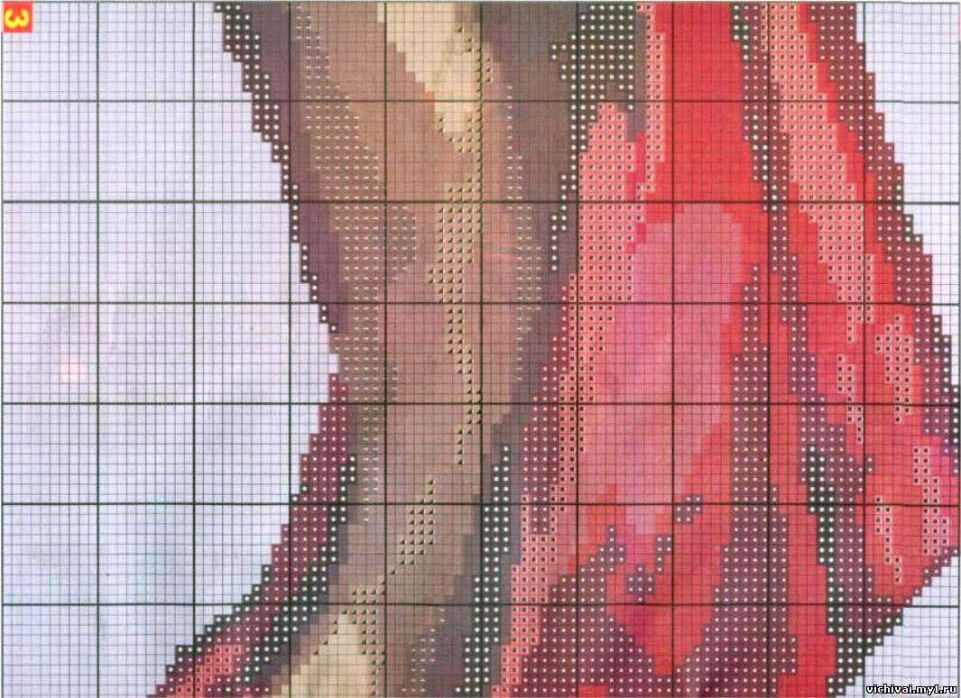 Вышивка крестиком фотографии онлайн